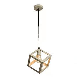 Lámpara de Techo Cubo Vintage Verde