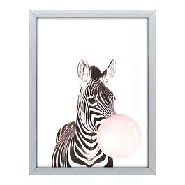 Cuadro Tela 40 X 60 Zebra