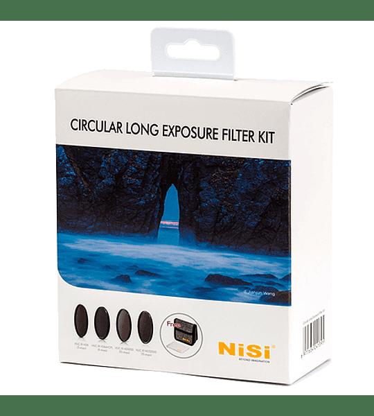 Filtro NiSi Circular Long Exposure Filter Kit (Varios tamaños)