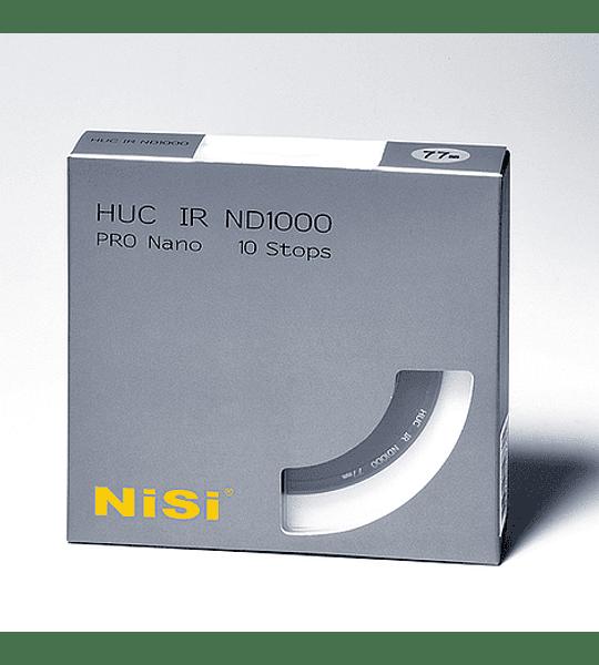 Filtro NiSi PRO Nano IR ND1000 (10 Pasos) (Varios tamaños)