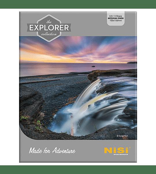 Filtro NiSi Explorer Collection Nano Medium IR GND8 (0,9) 3 pasos 100mm