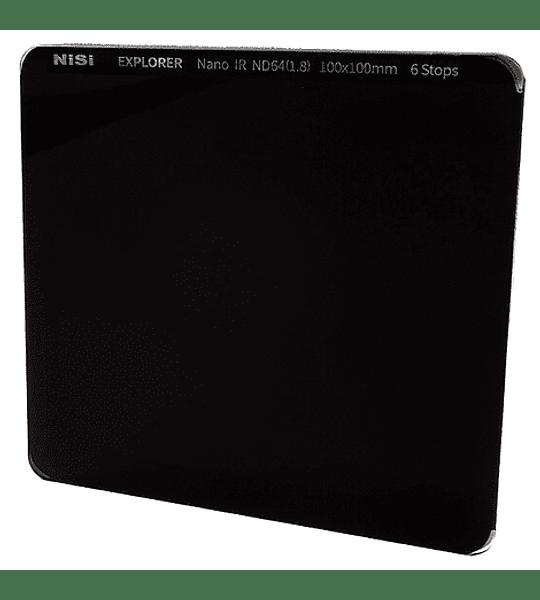 Filtro NiSi Explorer Collection Nano ND64 IR 6 pasos 100mm