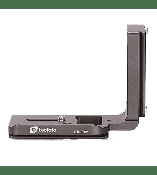 L-Plate Leofoto para Nikon D750