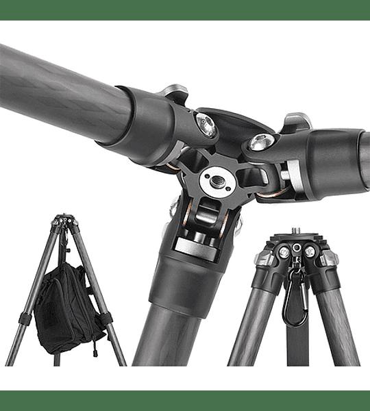 Trípode Carbono Leofoto Ranger con Cabezal 4 Sec. LS-224C