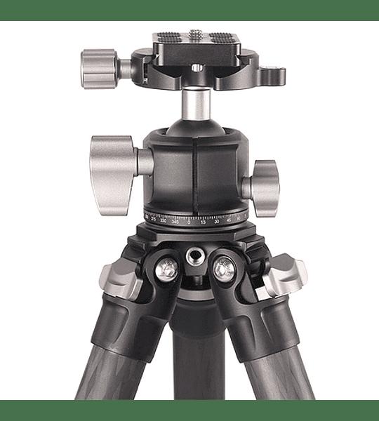 Trípode Carbono Leofoto Ranger con Cabezal 4 Sec. LS-254C