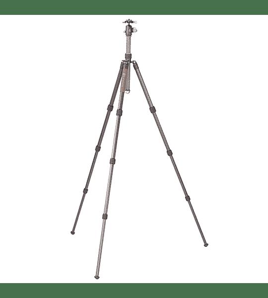Trípode Carbono Leofoto Serie LX con Cabezal 4 Sec. LX-284CT