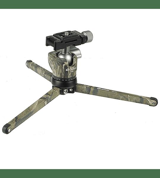 Trípode Compacto Leofoto con Cabezal MT-01