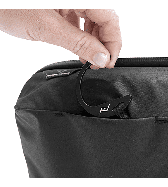 Bolso Peak Design Wash Pouch Negro