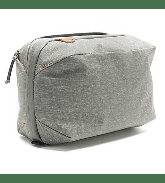 Bolso Peak Design Wash Pouch Gris Verde