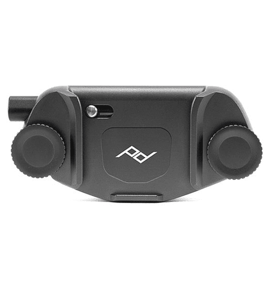 Clip Capture V3 Peak Design con Standard Plate Negro