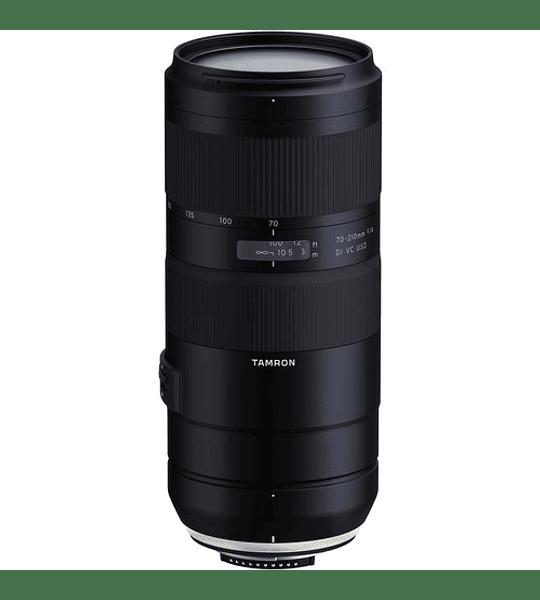 Tamron lente SP 70-210mm F/4 Di VC USD con parasol Canon/Nikon