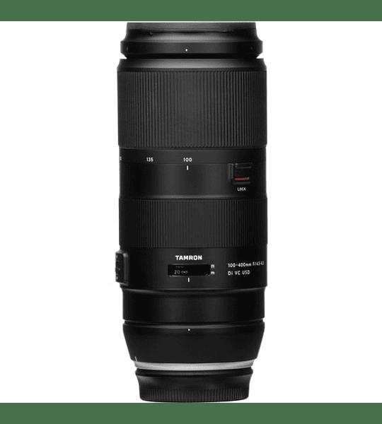 Tamron lente 100-400mm F/4.5-6.3 Di VC USD para Canon/Nikon