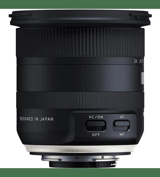 Tamron Lente 10-24mm F/3.5-4.5 Di II VC HLD para Canon/Nikon