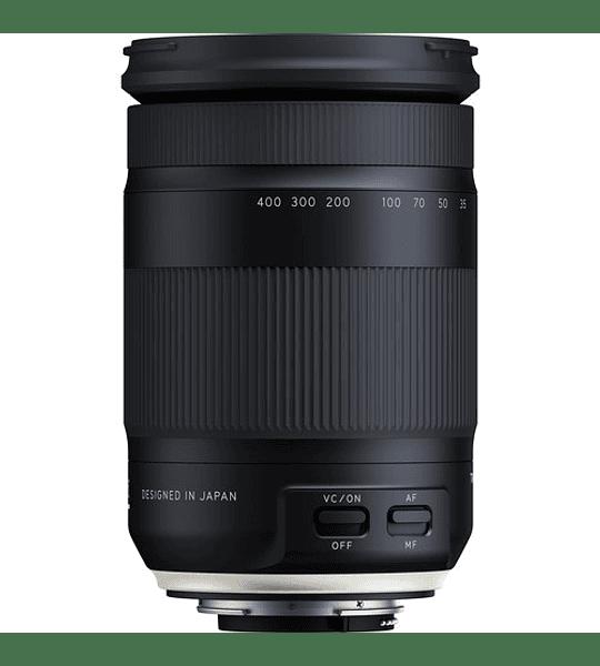 Tamron Lente 18-400mm F/3.5-6,3 Di II VC HLD para Canon/Nikon