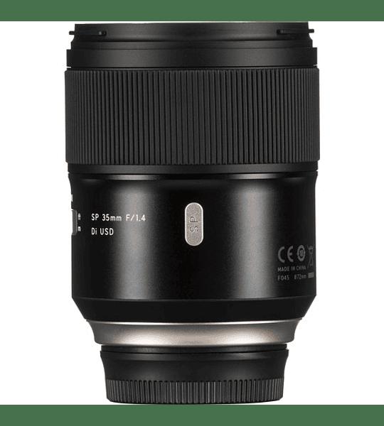 Tamron SP 35mm. F/1,4 Di VC USD con parasol Canon/Nikon