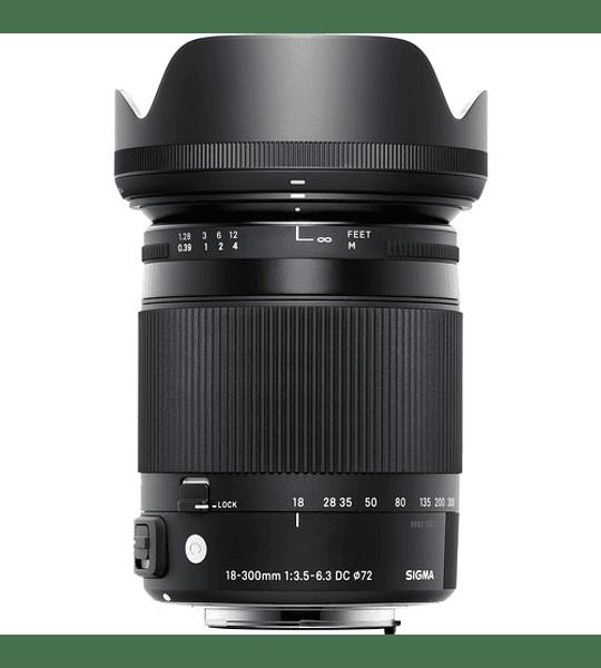 Sigma 18-300mm CONTEMPORARY F3.5-6.3 DC MACRO HSM