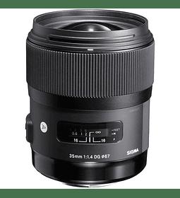 Sigma 35mm ART F1.4 DG HSM