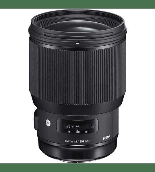Sigma 85mm F1.4 DG HSM ART