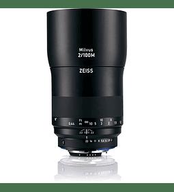 Zeiss Milvus 100mm f2.0 - montura Nikon o Canon