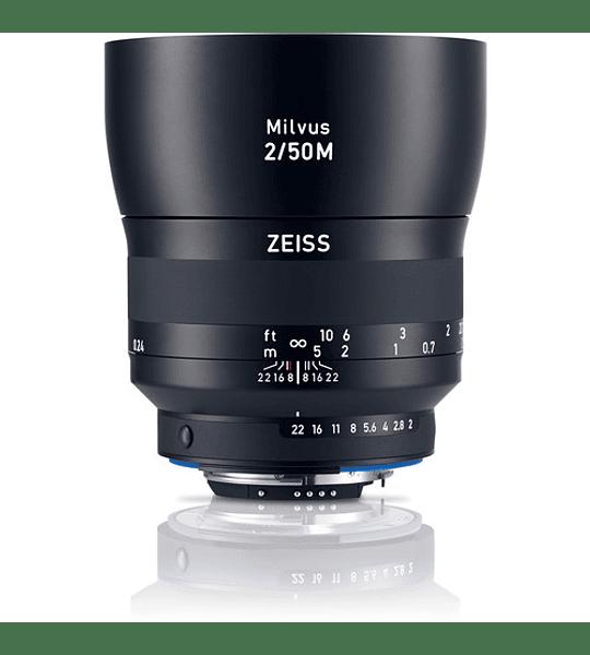 Zeiss Milvus 50mm f2.0 Macro - montura Nikon o Canon