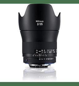 Zeiss Milvus 35mm f2.0 - montura Nikon o Canon