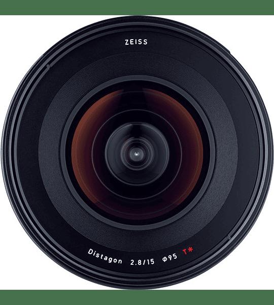 Zeiss Milvus 15mm f2.8 - montura Nikon o Canon