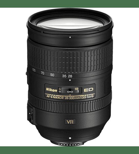 Nikon F AF-S 28-300 f3.5-5.6E ED VR 🔸