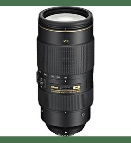 Nikon F AF-S 80-400 f4.5-5.6G ED VR