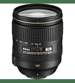 Nikon F AF-S 24-120 f4G ED VR 🔸