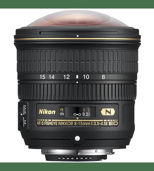 Nikon F AF-S Fisheye 8-15 f3.5-4.5E ED