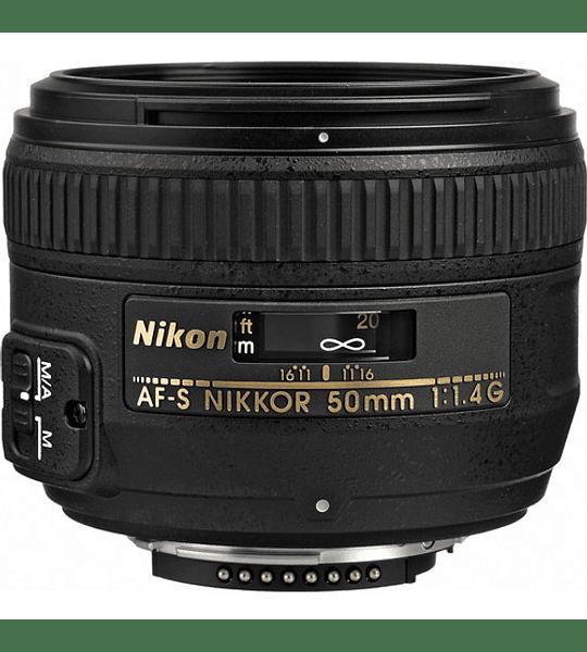 Nikon F AF-S 50mm f1.4G (R)