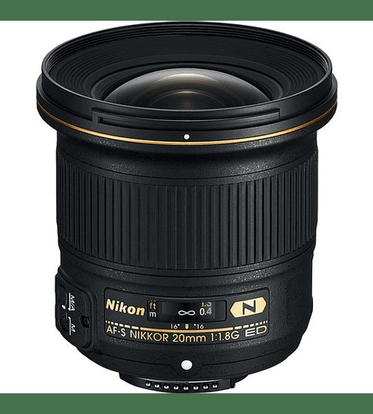 Nikon F AF-S 20mm f1.8G ED