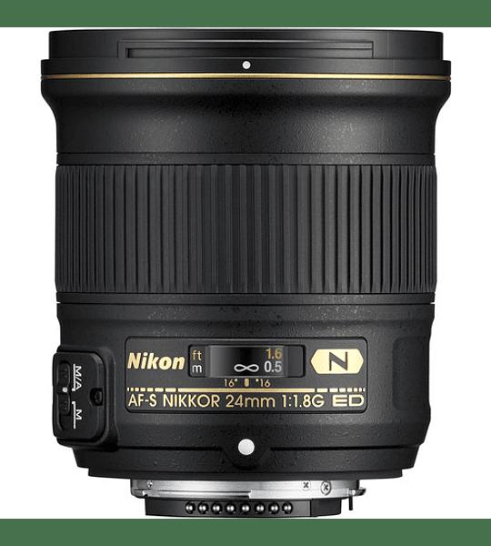 Nikon F AF-S 24mm f1.8G ED