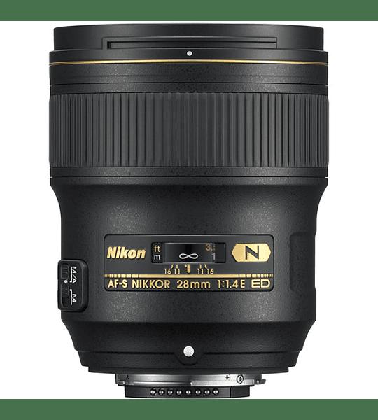 Nikon F AF-S 28mm f1.4E ED
