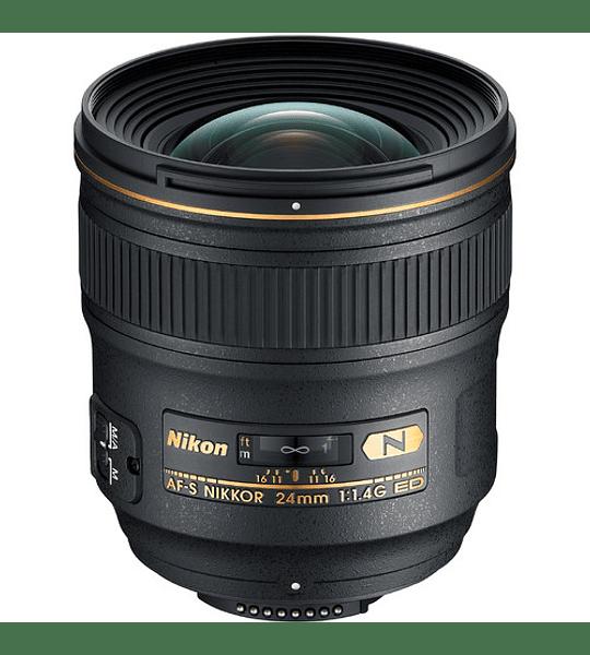 Nikon F AF-S 24mm f1.4G ED
