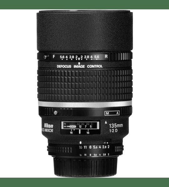 Nikon F DC 135mm f2.0D