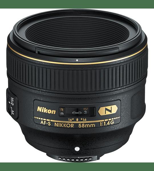 Nikon F AF-S 58mm f1.4G