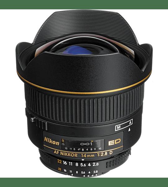Nikon F AF 14mm f2.8D ED