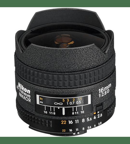 Nikon F AF FishEye 16mm f2.8D