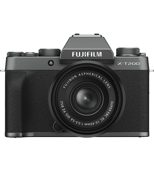 Fujifilm X-T200 + XC15-45 f3.5-5.6 OIS PZ
