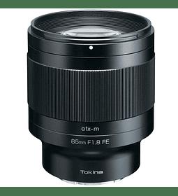 Tokina 85mm f/1.8 atx-m para Sony FE