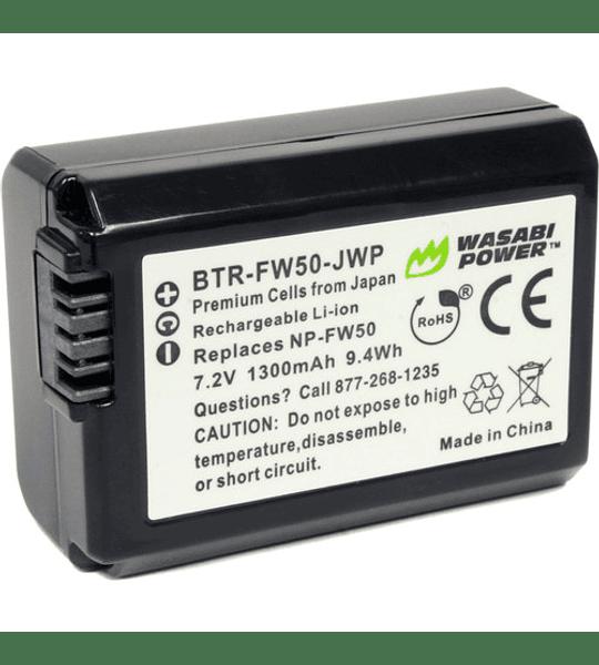 Wasabi KIT NP-FW50 2B+C