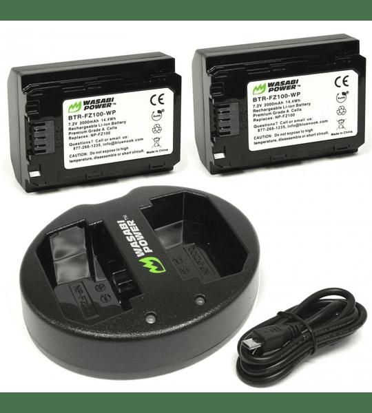 Wasabi KIT NP-FZ100 2B+C