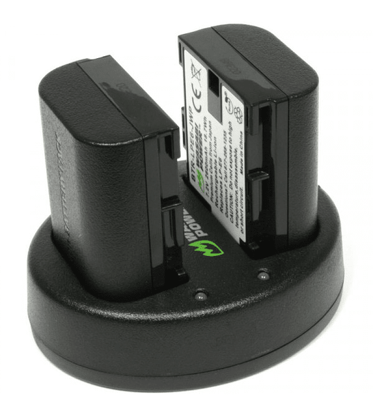 Wasabi KIT LP-E6 2B+C