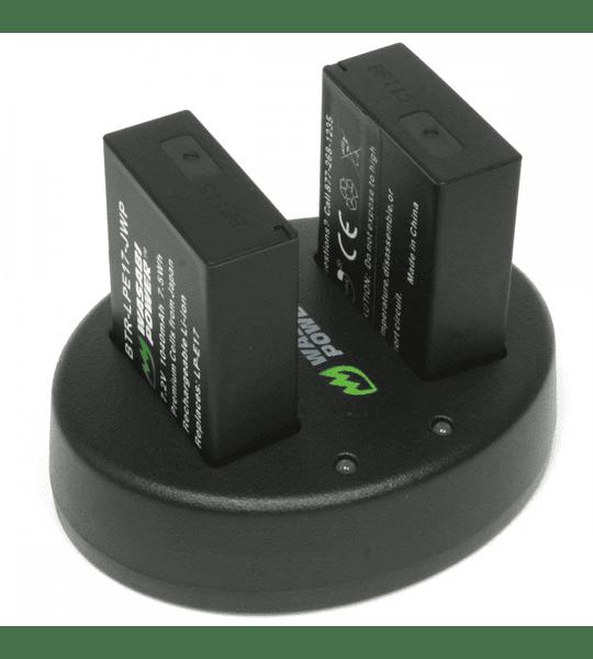 Wasabi KIT LP-E17 2B+C