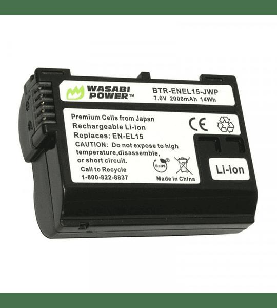 Wasabi KIT EN-EL15 2B+C