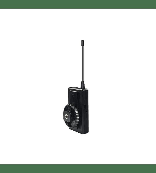 Microfono Ckmova Lavalier Omni Inalambrico UHF Kit Ultracompacto Transmisor y Receptor