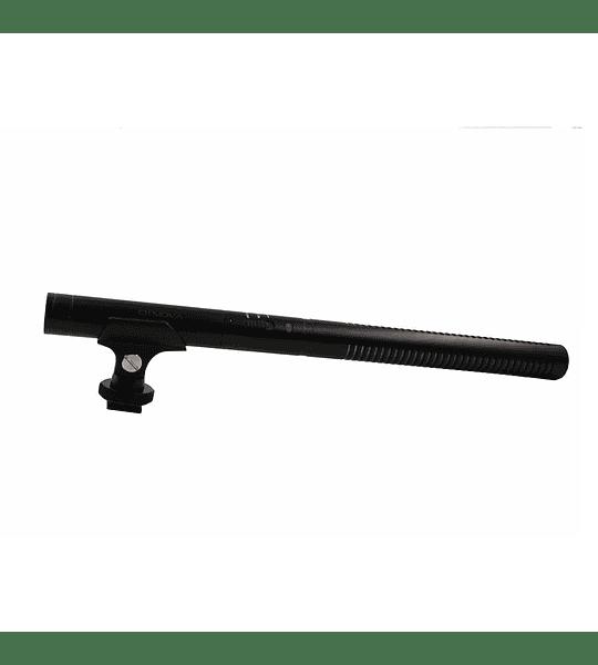 Microfono Ckmova Shotgun Direccional para Broadcast de Condensador Largo 30 cm