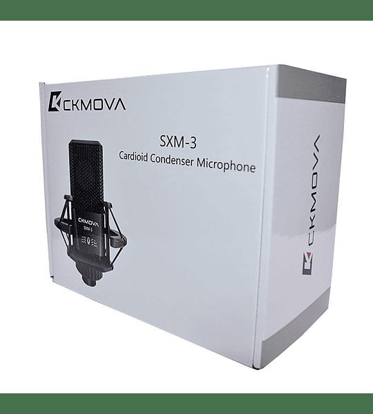 Microfono Ckmova USB de Estudio de Alta Calidad