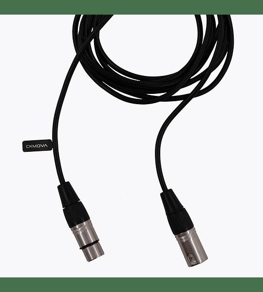 Cable Ckmova de 3 pin XLR Hembra a 3 pin XLR Macho